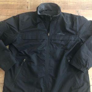 Eddie Bauer Thermal Insulated Black Jacket XL